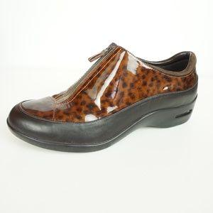 Cole Haan Luna Waterproof Zip Animal Print Shoes